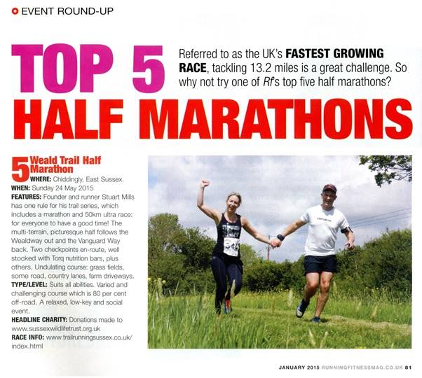 Running Fitness Magazine Ranking